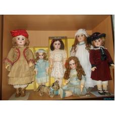 Антикварные французские куклы