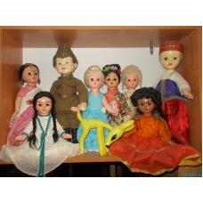 Куклы Ивановской фабрики
