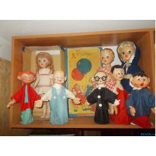 Советские куклы Ленигрушка