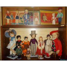 Итальянские куклы Lenci