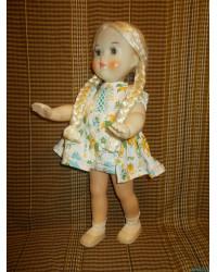 Куклы СССР Кукла паричковая с длинными косами 70е г.г.