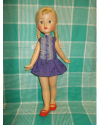 Куклы СССР Ленигрушка Мотовилова кл. Мишка 60е годы не игранная