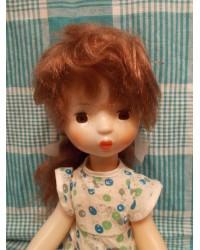 Кукла Оксана Загорской фабрики с этикеткой  70е годы
