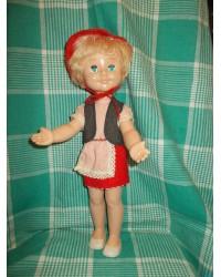 Кукла Красная Шапочка Аским 70е годы