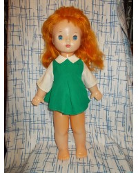 С зубками Кукла Мила Фабрика сувенирных и подарочных игрушек 70е годы
