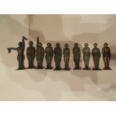 Солдатики Столбики  10 штук 60 -70е годы