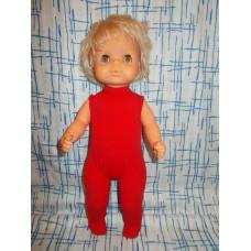 Кукла ГДР Пупс в красных ползунках