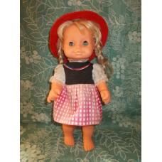 Кукла ГДР Красная Шапочка  70е годы